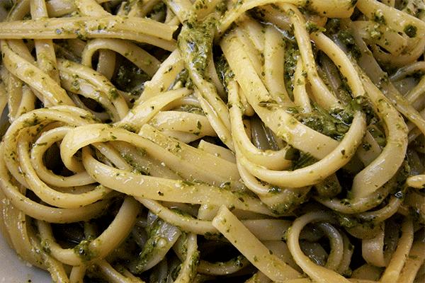 Trenette al Pesto Genovese